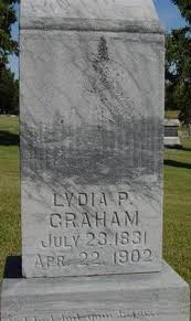 Lydia Priscilla Harvey Graham (1831-1902) - Find A Grave Memorial