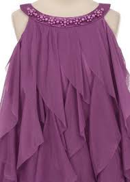 Image result for picture of dresses with Ruffles around the neck