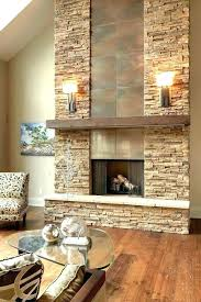 excellent ideas stacked rock fireplace wall stone living room modern st stone wall fireplace ideas modern decorating