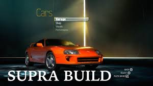 Supra Build Fast and Furious Style | NFS Undercover - YouTube