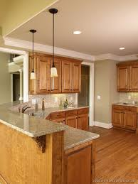 Kitchen Colors With Light Wood Cabinets Awesome Design Ideas