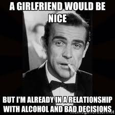 A girlfriend would be nice But i'm already in a relationship with ... via Relatably.com