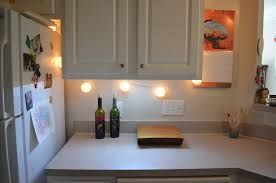 image of battery operated led wireless under cabinet lighting