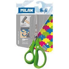 Ножницы детские для левшей <b>Milan</b> 14см, эргономичные <b>ручки</b> ...
