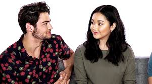 Lana condor, jordan fisher, and noah centineo discuss the 'to all the boys i've loved before' sequel. Wear A Mask Arielabarers Lana Condor And Noah Centineo Being