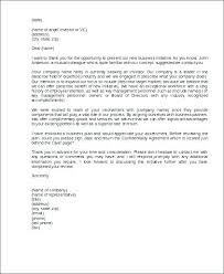 Letter Of Business Proposal Cover Letter For Proposal Sample Sample