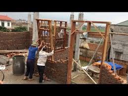 install the correct wooden door frame