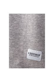 A Question Of Pussy Crew Neck T shirt Grey Intro Clothing