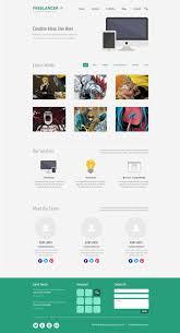 35 single page website template psd creativecrunk mini st one page website template psd