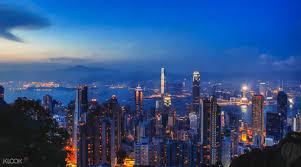 City Lights Of China Coupon Nighttime City Lights