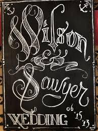Chalkboard Sign Designs Hand Made Custom Chalkboard Sign Art By Threemantiger Arts