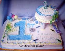 Babys First Birthday Sheet With 6 Round Cake Tiffanys Bakery