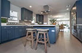 white kitchen dark tile floors. Transitional Kitchen With Dark Blue Cabinets, White Quartz Counters And Porcelain Tile Flooring Floors S