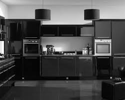 Modern Black Kitchen Cabinets Dark Kitchen Cabinets With Grey Walls Outofhome