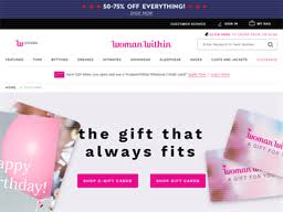 Woman Within   Gift Card Balance Check   Balance Enquiry, Links ...