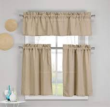 Cotton Kitchen Curtains