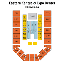 Appalachian Wireless Arena Seating Chart Eastern Kentucky Expo Center Tickets Eastern Kentucky Expo