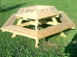 homemade picnic table bench easy plans designs building picnic table designs wood plans bigger kids