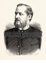 Portrait of Carlos Manuel O'Donnell y Álvarez-Abreu (Valencia 1834 - Madrid  1903) Spanish military man