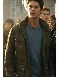 thomas maze runner the cure green jacket