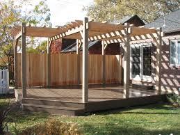 Simple Pergola simple steps building pergola on deck invisibleinkradio home decor 5441 by xevi.us