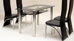 small glass dining room sets. Black Glass Dining Room Table And Chairs Small Kitchen Sets For 4