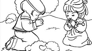 Small Picture Children Praying Coloring Page Childrens Coloring Pages Children