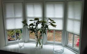 bay window blinds. Tensioned Pleated Blinds Bay Window Surrey Shutters 1 2 Mini Inch