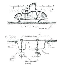 install undermount kitchen sink installing kitchen sink granite how to install undermount double kitchen sink