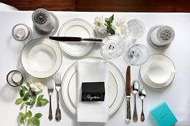 formal setting of a table. formal setting of a table
