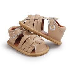 infant boy girl baby summer pu leather sandals soft sole crib boys girls shoes prewalker malaysia