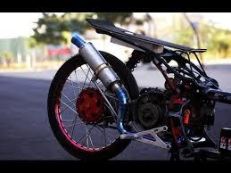 drag bike 201 indonesia special yamaha nuvo youtube