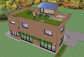 Small Picture Roof garden house plans House design ideas