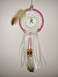 Breast Cancer Dream Catcher Fascinating Pink Breast Cancer Awareness Car Dream Catcher Rear View Mirror Car