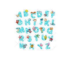 Bubble Letters Font Font Vector Pack Royalty Free Vectors Alphabet Abc Letter Type