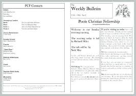Church Program Templates Free Download Microsoft Word Bulletin Template Allthingsproperty Info