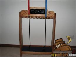 Golf Club Display Stand How To Build A Putter Rack By Matt Saternus Owner Saternus 37