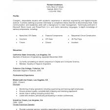 Resume Builder Objective Examples Career Objective For Ojt Marketing Student Resume Examples College 40