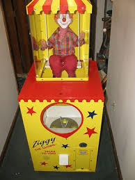 Ziggy The Talking Clown Vending Machine Fascinating Ziggy The Clown Arcade Game Coin Operated Amusement Machine 48