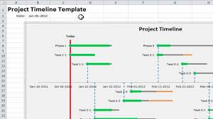 it project timeline excel project timeline 10 simple steps to make your own project