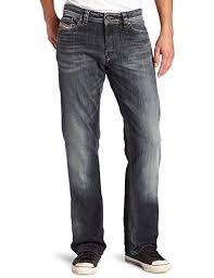 Diesel Mens Viker Regular 0885k Slim Straight Leg Jean
