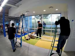 santa fe springs ca tangram interiors will be putting the finishing touches on the six month remodel of their headquarters in the beginning of may