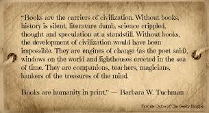Favorite Book or Reading Quotes (Tuesday Fun): Barbara W. Tuchman | via Relatably.com