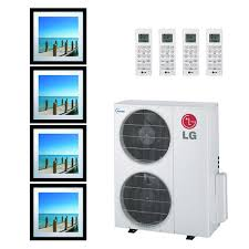 lg mini split. lg 36k btu multi f quad zone art cool gallery ductless mini-split heat pump lg mini split t
