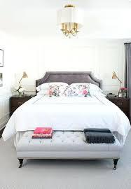 dark grey headboard bedroom ideas dark gray velvet headboard with light tufted bench bedroom decor 1 dark gray headboard bedroom ideas
