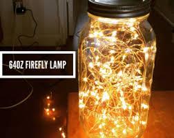 glass jar lighting. fairy light mason jar lamp firefly lights led decorative copper glass lighting