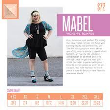 New Style Alert The Lularoe Mabel Romper Direct Sales