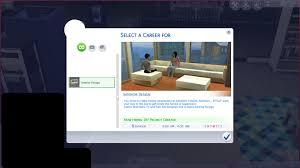 Sims Interior Design Game Mod The Sims Interior Design Career Not Current