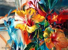 by vie dunn harr contemporary painter born in san antonio texas usa in