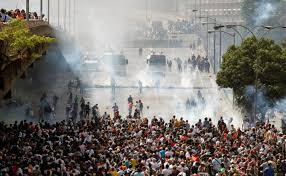 #Venezuela, situación de peligro